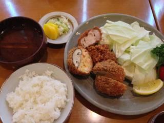 えび椎茸定食