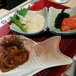 塩辛三点&日本酒セット