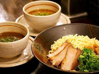 新風つけ麺(魚節とんこつ)