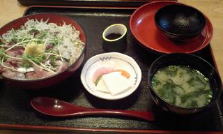 鯵シラス丼