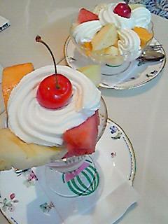 フルーツクリーム