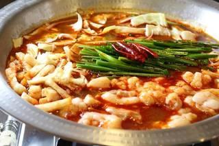 国産牛ホルモン鍋(チゲスープ)