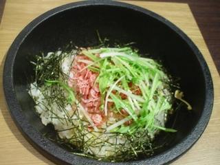干し海老の石焼炒飯