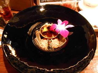 上海蟹の紹興酒漬け