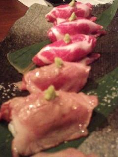 イベリコ寿司
