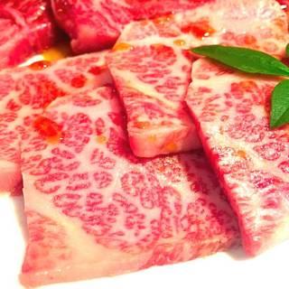 特選和牛焼肉五種盛り合わせ