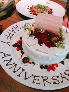 特製アニバーサリーホールケーキ