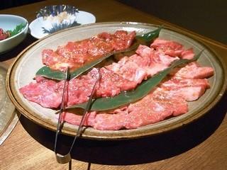 肉の盛り合わせ 3,800円