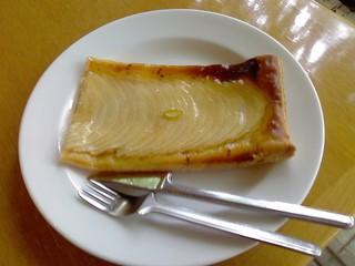 アップルパイと紅茶セット