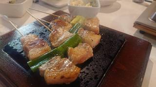 ヨーグル豚の串焼き