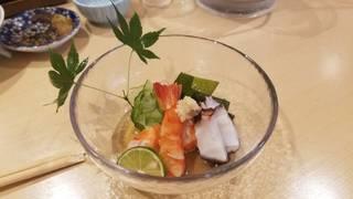 海老と蛸の酢の物