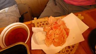 紅ショウガの天ぷら