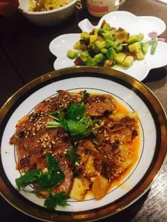 白身魚と高菜のピリ辛酸味煮