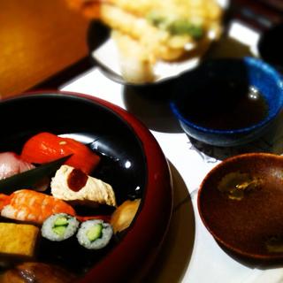 にぎり寿司・天ぷらランチ