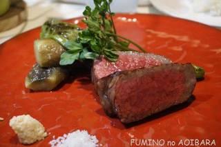 炭火焼き熟成ステーキ