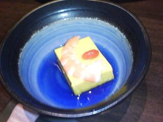 チーズ入りカボチャプリン