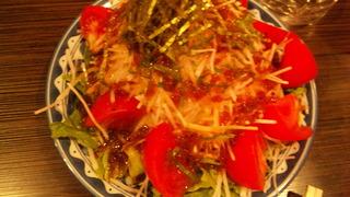 大根とトマトのサラダ