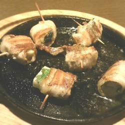 山芋梅しそ豚バラ巻き