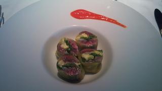 秋刀魚と旬野菜のインポルティーニ