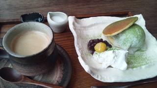 抹茶アイスどらセット