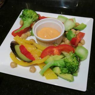温野菜のロメスコソース