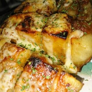米ナスの味噌チーズ焼き