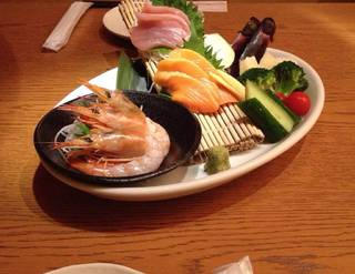 海鮮野菜盛り