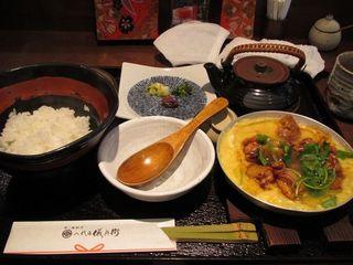 京赤地鶏の親子丼