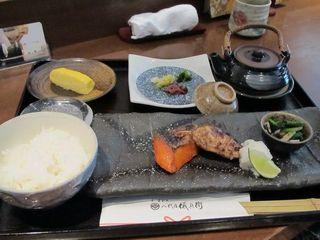 銀シャリ定食