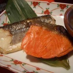 季節の焼き魚二種盛り