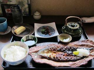 本日の焼き魚の銀シャリ御膳