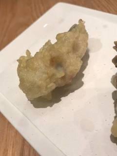 牡蠣の天婦羅