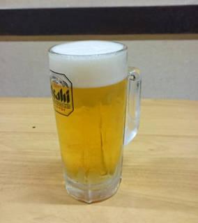 生ビール 中ジョッキ