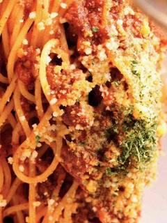 あらびき牛肉と完熟トマトたっぷりのボロネーゼ