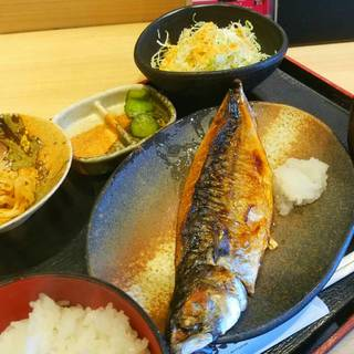 本日のお魚定食