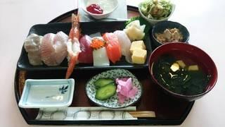 限定寿司ランチ