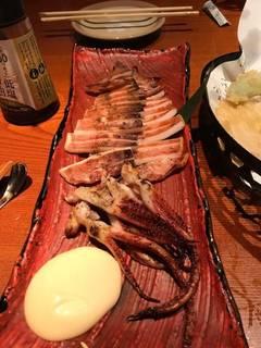 自家製 イカの山椒醤油焼