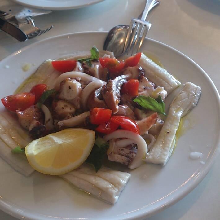 蛸と鱧の前菜