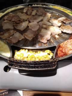 チーズ・サムギョプサル食べ放題