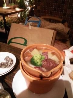 塩漬スネ肉と野菜のブレゼ ポトフ風