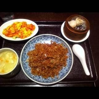 黒炒飯セット