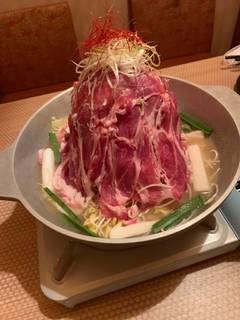 肉タワー鍋