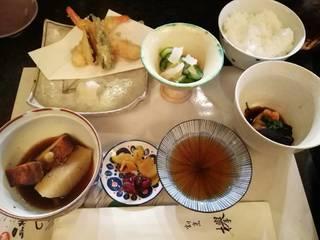 日替わり定食天ぷら付き