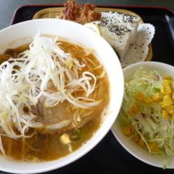 坦々麺ランチ