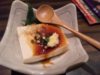 自家製ジーマーミ豆腐