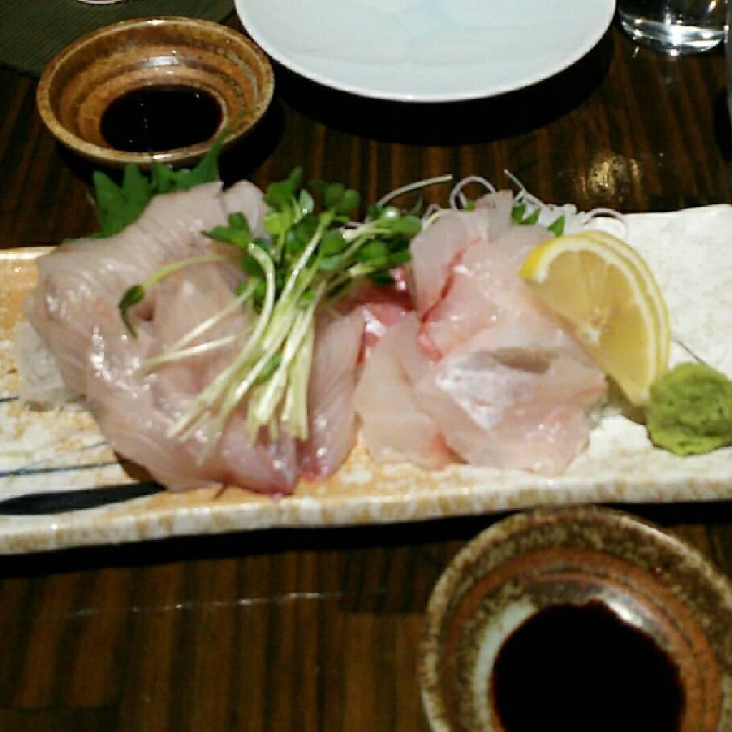 旬魚のお刺身