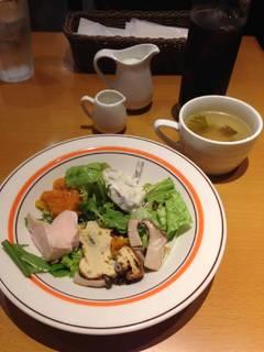 日替わりパスタランチ(前菜)