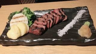 国産和牛のサーロインステーキ