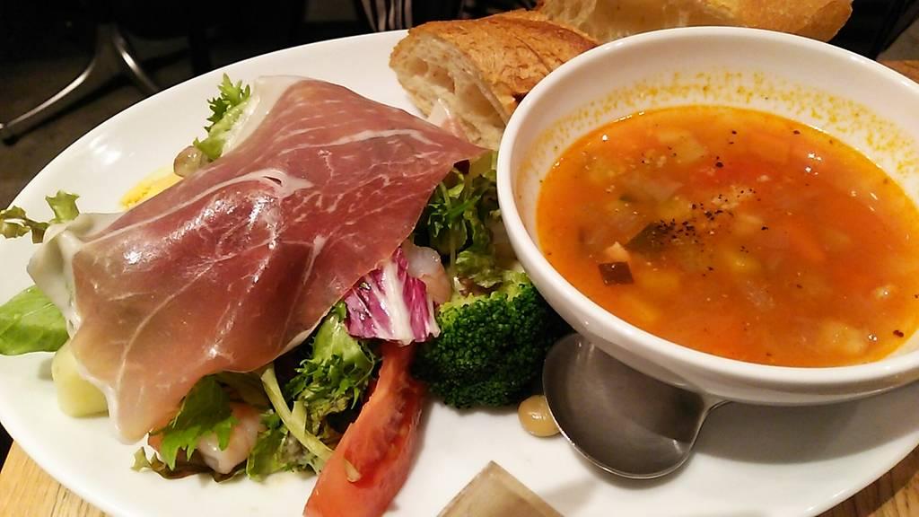 スープ&サラダプレート