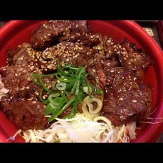 肉増増ハラミ丼